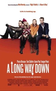 Cinema poster for A Long Way Down.