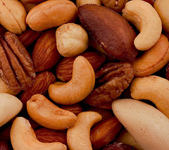 Nuts are a great healthy food to have on a regular basis
