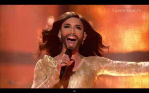 Conchita is a most deserving winner of Eurovision 2014.