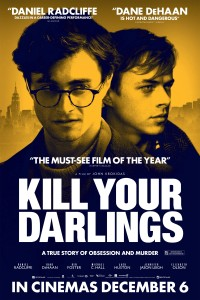 Film poster for Kill Your Darlings.