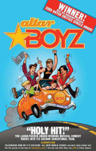 Altarboyz was on at Greenwich Theatre, 3rd to 18th October 2014