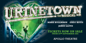 Check out www.urinetown.co.uk for tickets and more details on this fantastic musical!