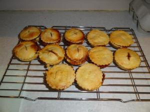 Remember to make your mince pies ahead of the day - you'll be busy cooking!!