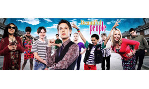 Beautiful People written by Jonathan Harvey ran on BBC2 for 2 series across 2008-9.