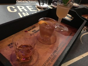 Fantastic presentation from Bacardi - and some lovely drinks too!