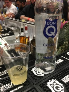 Using Don Q Cristal, this was a really lovely take on Pina Colada.
