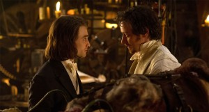 James McAvoy and Daniel Radcliffe star in this woeful reimagining of Mary Shelley's Frankenstein.